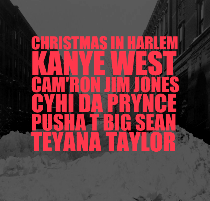 Kanye West Christmas In Harlem.Audio Kanye West Christmas In Harlem Sb
