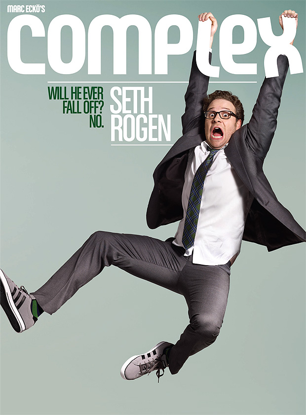 Seth Rogen is covering COMPLEX