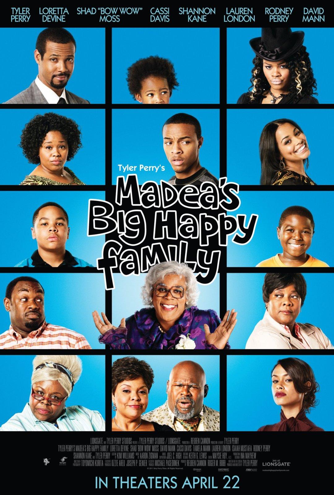 Movie tyler perry s madea s big happy family spoiledbroke